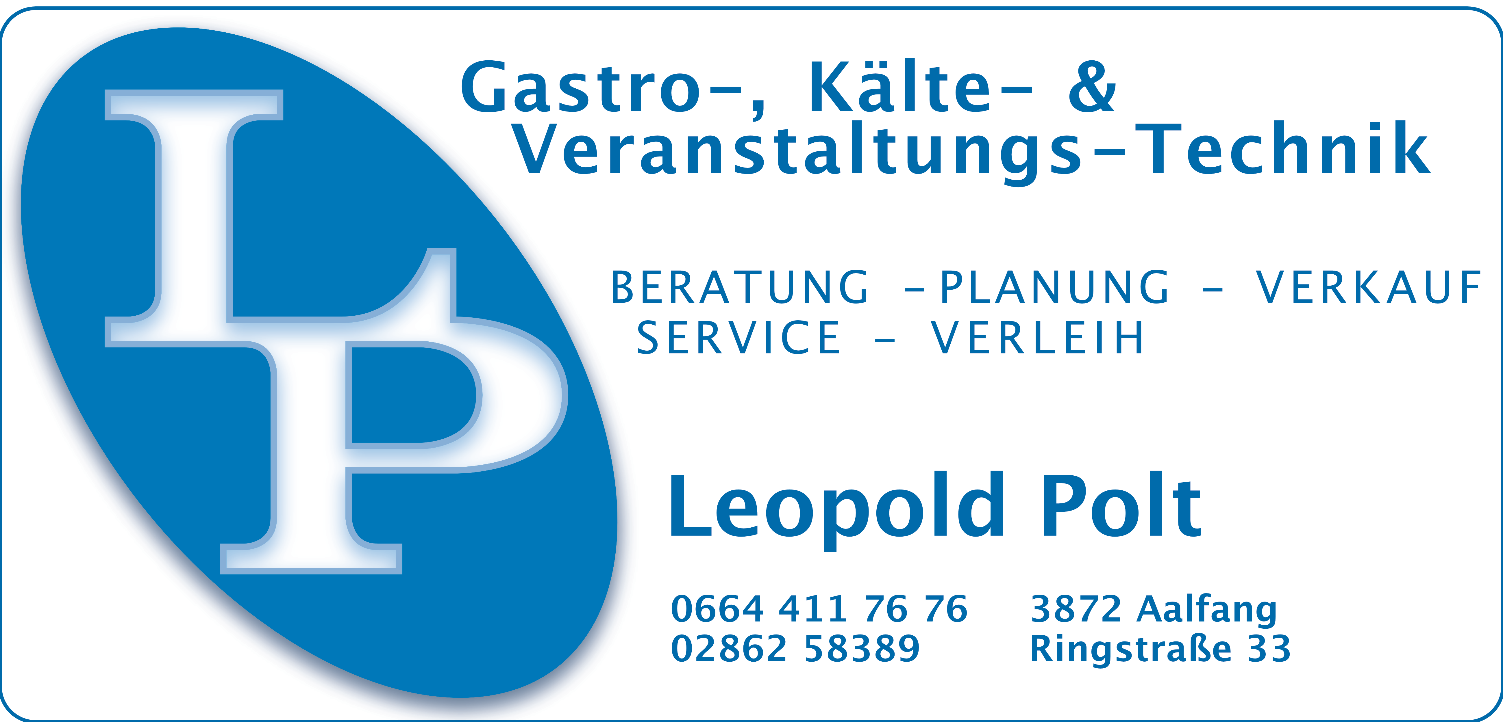 Leopold Polt Gastro-, Kälte- & Veranstaltungs-Technik